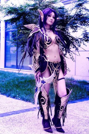 Night Elf Cosplay