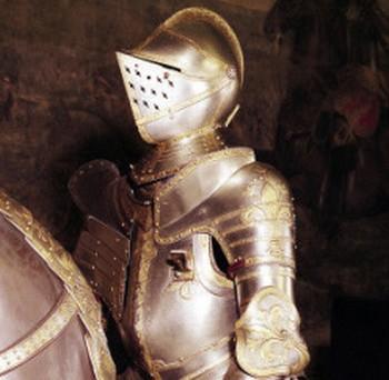 dettaglio armatura Francesco I metropolitan museum