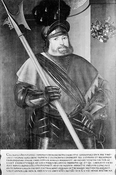 georg von frundsberg di cristoph amberger
