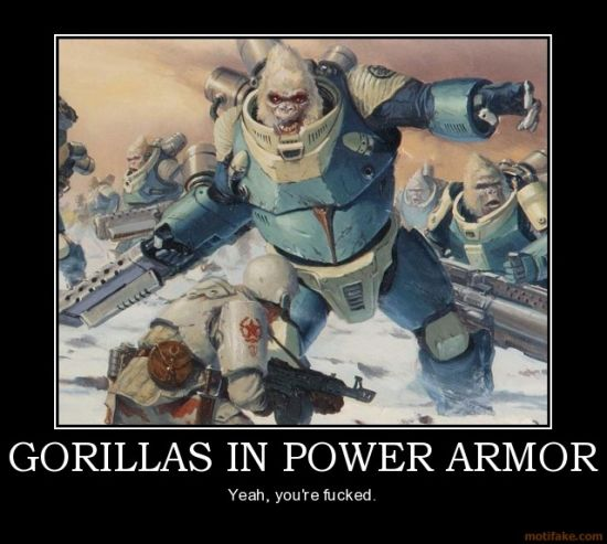 Gorilla Power Armor