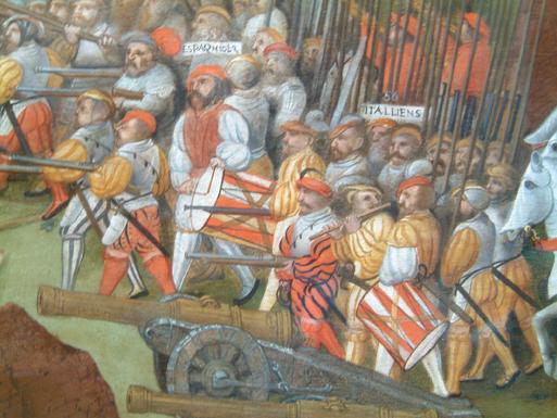 Archibugeri alla Battaglia di Pavia