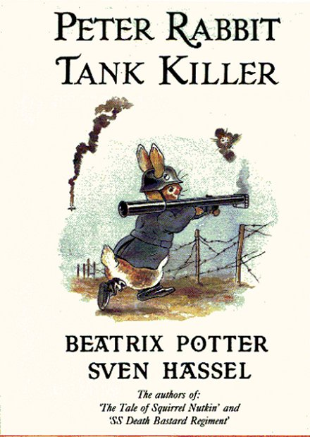 Peter Rabbit Tank Killer cover