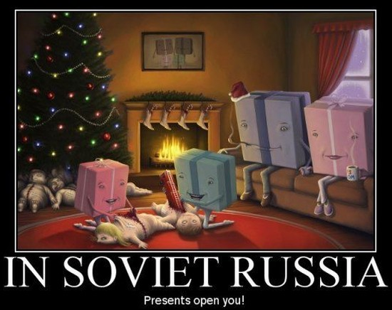in_soviet_russia_presents