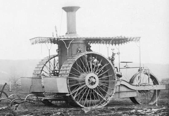 Case Steam Tractor 1893