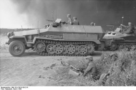 Russland, Schützenpanzer Sd.Kfz. 251