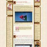 Il vecchio tema di Baionette Librarie che con poche modifiche (sfondo, aggiunte di elementi nelle sidebar) è stato presente dal 23 dicembre 2009 al 19 marzo 2014.