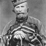 Giuseppe Garibaldi, c. 1866. Fece del Risorgimento la sua Religione e noi Italiani riconosciamo in lui un Santo della fede laica nell'Italia Unita.
