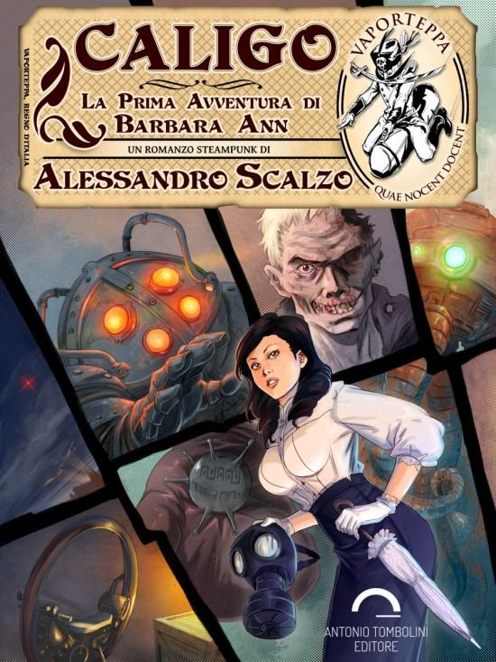 """""""Caligo"""", romanzo Steampunk.Lunghezza 62.400 parole (circa 211 pagine). Con 5 illustrazioni interne a """"piena pagina""""."""