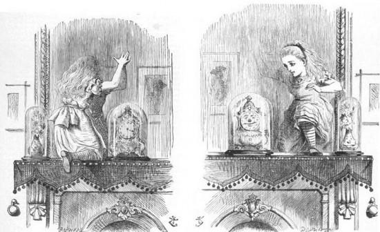 Lo specchio di atlante seconda edizione baionette librarie - Alice dietro lo specchio ...