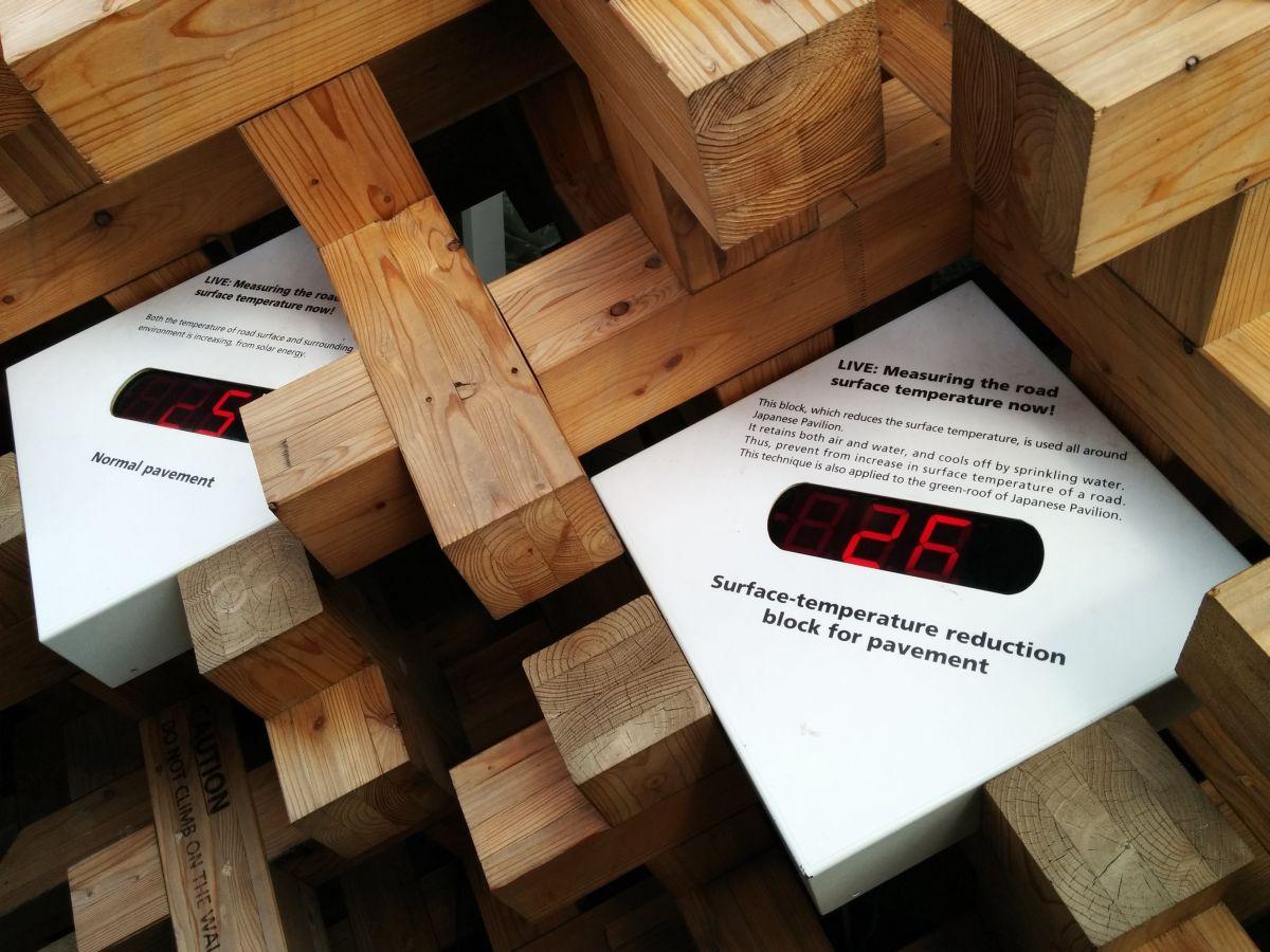 Expo 2015 il daspo del cervello baionette librarie for Pavimento giapponese