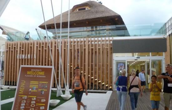 Romania: un ristorante camuffato da padiglione di Expo.