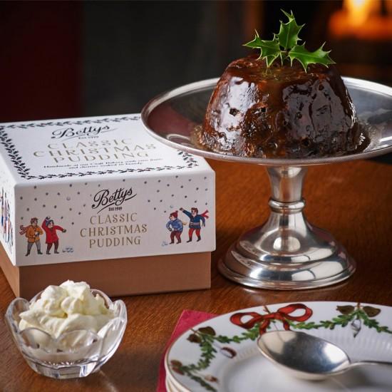 Anche il Christmas Pudding di Bettys non sembra male. ^^
