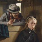 """Signorina, eh eh, vuole vedere la mia teiera? Eh eh. Vuole?"" (The Irritating Gentleman, Berthold Woltze, 1874)"