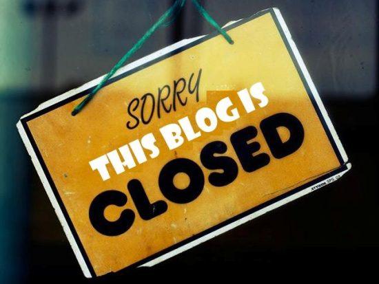 closedblog