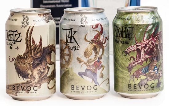 Le birre di Bevog non sono meno eccellenti solo perché oltre che in bottiglia sono anche vendute in lattina. Anzi, quelle in lattina sono un po' meno gasate e per tanti intenditori questo è un pregio!