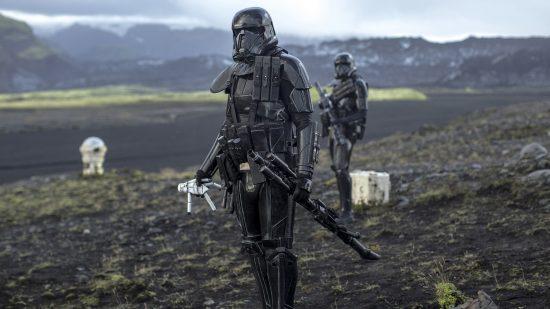 Nuovo Imperial Death Trooper: ora sparano dritto e raccolgono gli oggetti smarriti.