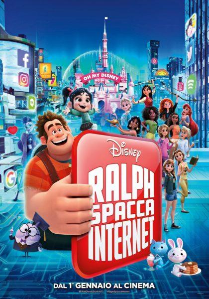 """Locandina di """"Ralph spacca Internet"""""""