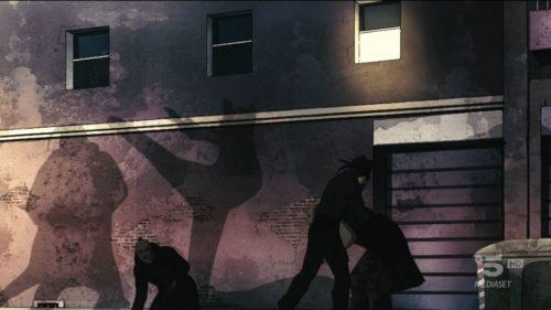 L'ombra lottatrice della Volpe!